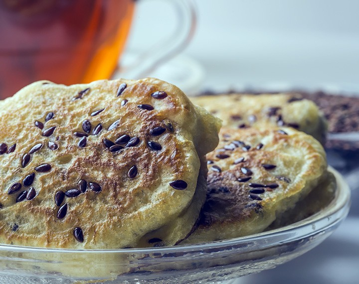 High Protein Chocolate Chip Pancake