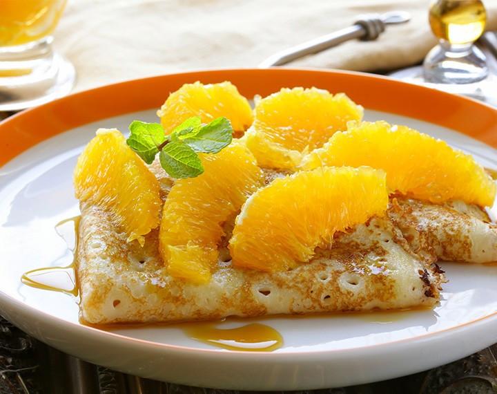 Pâte à Crêpes Orange hyperprotéinée