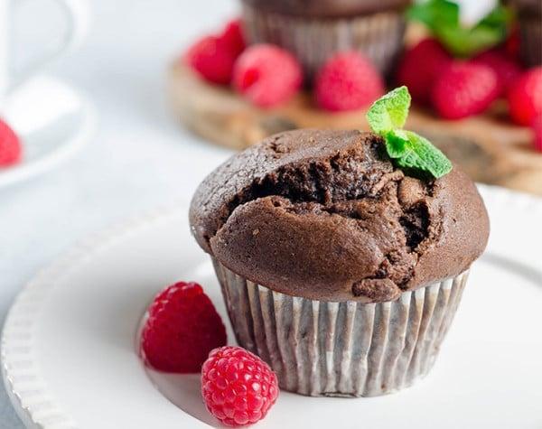 Cake minute Chocolat hyperprotéiné