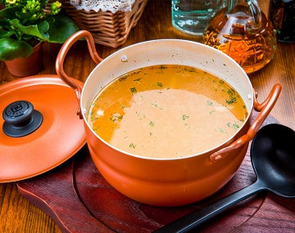 High protein Moroccan Chorba Soup
