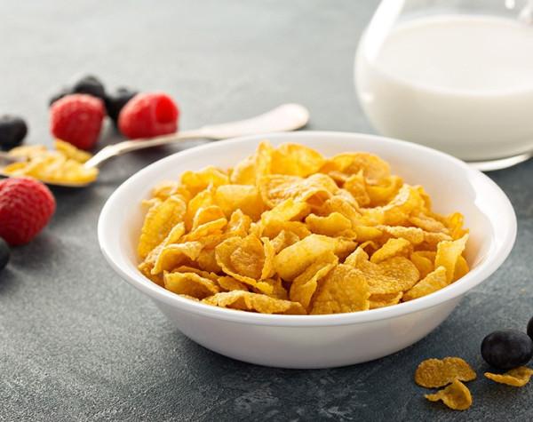 Corn Flakes hyperprotéiné