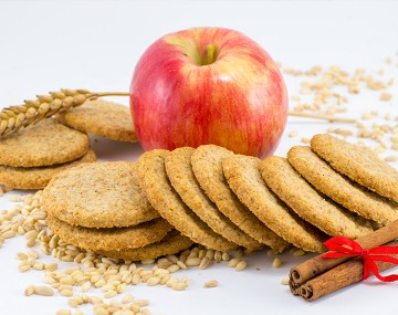 High Protein Apple Cinnamon Biscuits