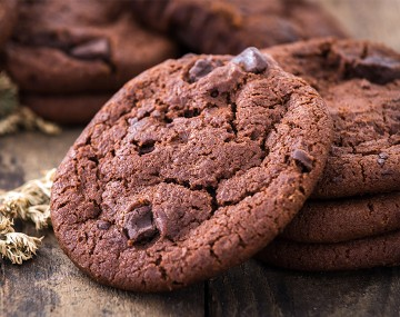 Chocolate Cookies with High Protein Chips