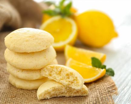 Biscuits moelleux Citron hyperprotéinés Sans Gluten