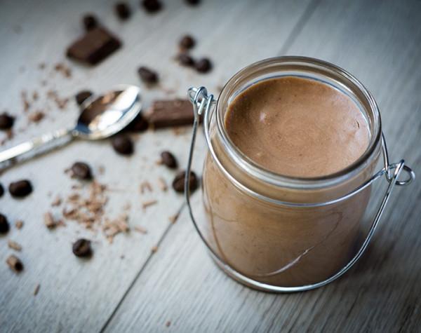 High Protein Coffee Dessert