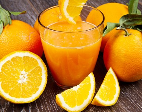 Orange high protein drink
