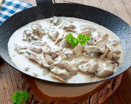 Poulet aux Champignons (plat cuisiné)