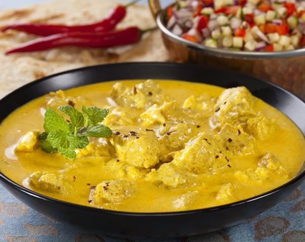 Velouté de Poulet au Curry hyperprotéiné