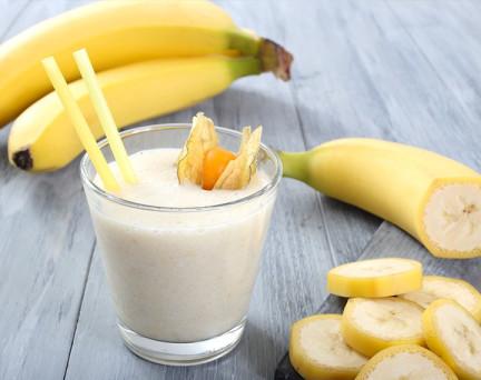 Milk Shake hyperprotéiné Banane Sans Gluten
