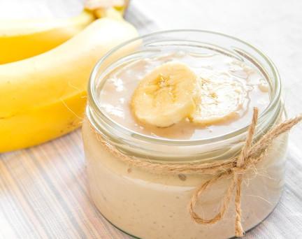 Entremets hyperprotéiné à la Banane