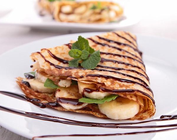 Pâte à Crêpes Banane Chocolat hyperprotéinée
