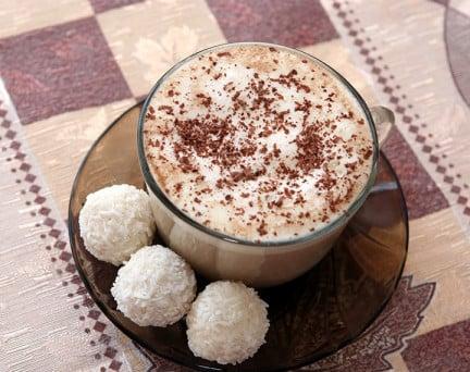 Entremets Coco Sans Gluten avec Pépites de Chocolat hyperprotéiné