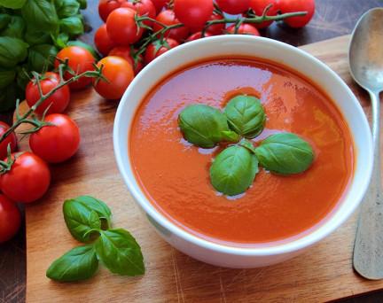 Soupe de Tomates  Gazpacho hyperprotéinée Sans Gluten